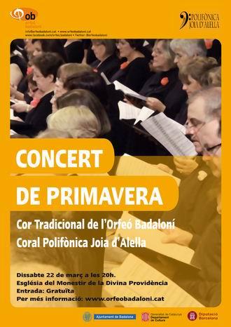 Concert de primavera 2014