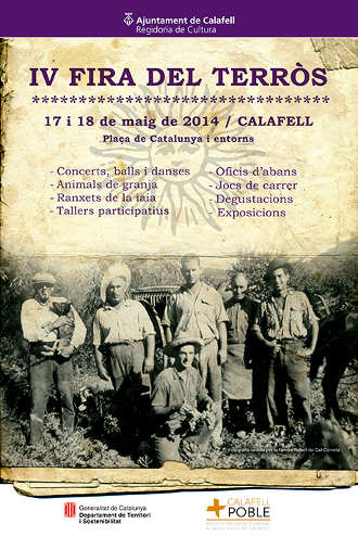 IVFiraTerros014-Calafell-cartell
