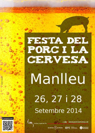 Festa Porc i Cervesa Manlleu 2014