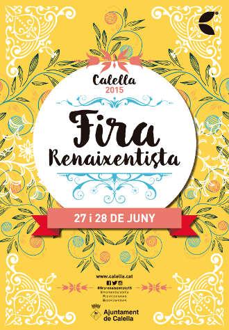 Cartell Festa Renaixentista 2015