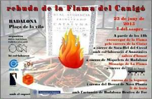 Cartell La Flama 2015