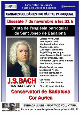 Cantata 7 novembre - cartell