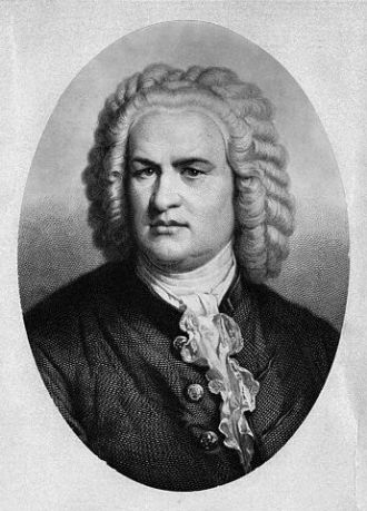 Johann Sebastian Bach --- Image by © Hulton-Deutsch Collection/CORBIS