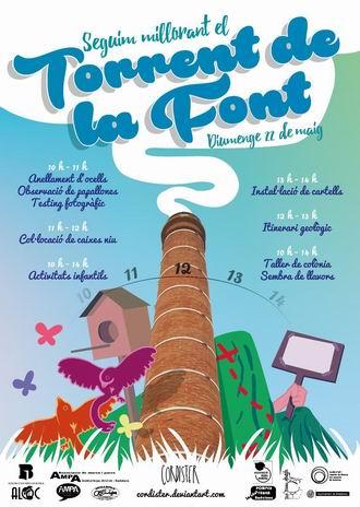 cartel Torrent de La Font